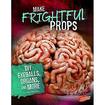 Fazer adereços assustadora: DIY olhos, órgãos e muito mais (Halloween de arrepiar os cabelos)