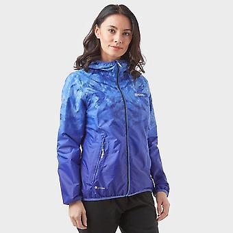 Ny Regatta kvinner ' s Leera III vanntett jakke blå