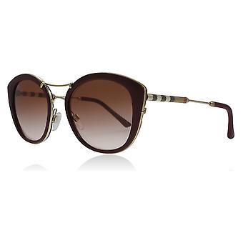 Burberry BE4251Q 340313 Bordeaux BE4251Q Round Sunglasses Lens Category 2 Size 53mm