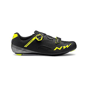 Northwave Black-Yellow Fluo 2019 Core Plus Cycling Shoe