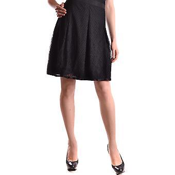 Dolce E Gabbana Black Nylon Skirt