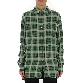 Marc Jacobs Green Cotton Shirt