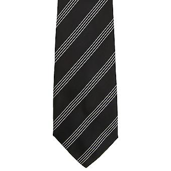Premier Tie - Mens Four Stripe Work Tie (Pack of 2)