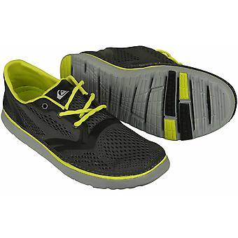 حذاء برمائي للرجال من كويكسيلفر AG47 - رمادي / ليموني