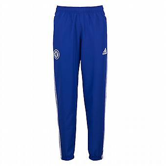 2015-2016 Chelsea Adidas Presentation Pants (Blue)