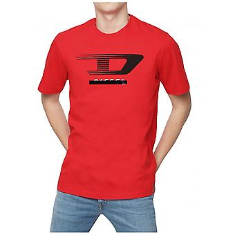 Diesel T-Juse-y4 T-Shirt-Rot