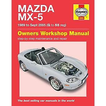 Mazda MX-5 Service & Repair Manual - 9780857339348 Book