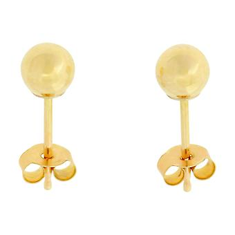 The Olivia Collection 9ct Yellow Gold 4mm Ball Stud Earrings
