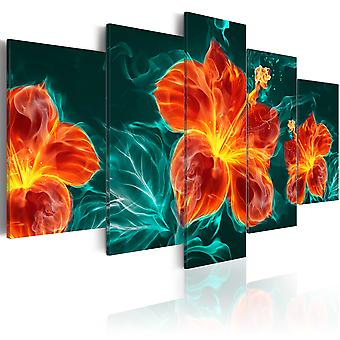 Canvas Print - Flaming Lily