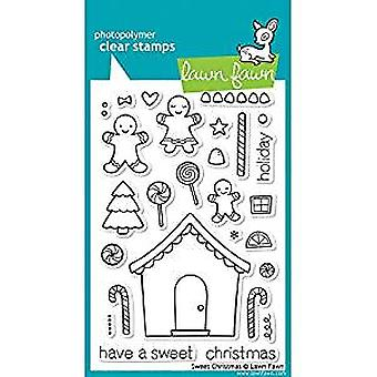 Lawn Fawn Clear Stamps Sweet Christmas (LF426)