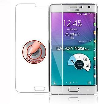 Cadorabo Tank Film for Samsung Galaxy S6 EDGE - Protective Film in CRYSTAL KLAR - Tempered Display Protective Glass in 9H Hardness with 3D Touch Compatibility