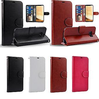 Samsung Galaxy Note 8-cuir cas/portefeuille