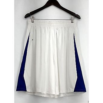 Holloway (XXL) Pull On Draw String Elastic Waist Men's Shorts White Womens