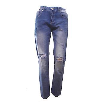 Jeans Sliten look