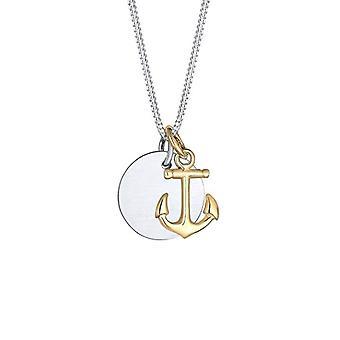 Elli Halskette mit Silber Damen Anhänger