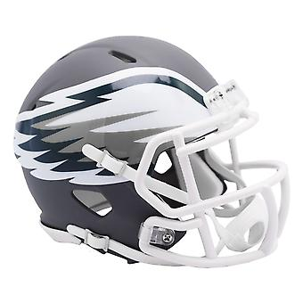 Riddell Speed Mini Football Helm - AMP Philadelphia Eagles