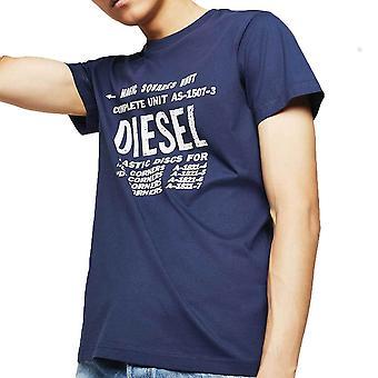 Diesel TDIEGOB6 Industrial Print TShirt