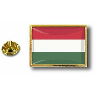 Pins Pin Badge Pin's Metal  Avec Pince Papillon Drapeau Hongrie Hongrois