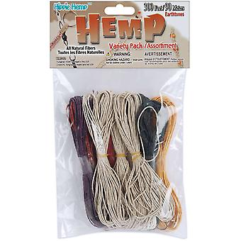 Hemp Variety Pack 300 Feet Pkg Earth Tone Km 312