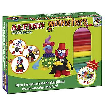 Alpino Alpine Modela Monster (Toys , Educative And Creative , Arts And Crafts , Dough)