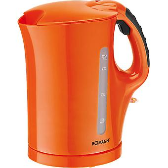 Bomann Wk 5011 Kettle 1.7 L Orange