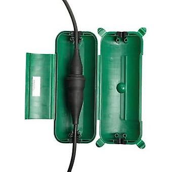 Socket cube Green Heitronic 21045