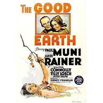 Die gute Erde Movie Poster (11 x 17)