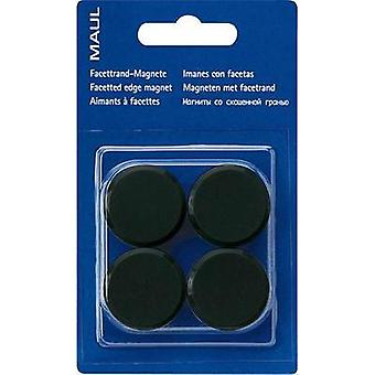 -Round magnet 4PCS BLACK