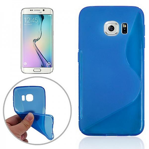 Silicone case S-line blue for Samsung Galaxy S6 edge G925 G925F