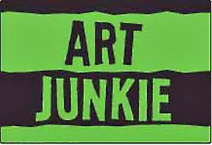 Art Junkie fridge magnet  (ep)