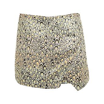 Miss Selfridge Rainbow Jacquard Skort