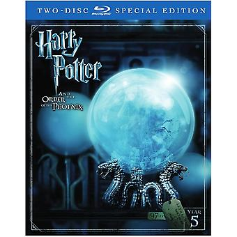 Harry Potter & the Order of the Phoenix [Blu-ray] USA import