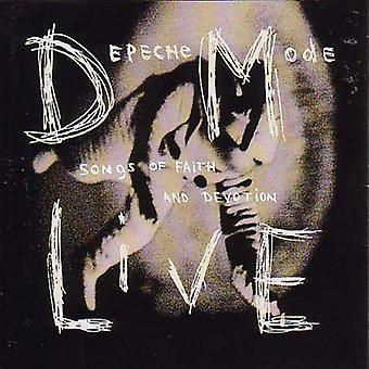 Depeche Mode - Live-Songs of Faith & toewijding [CD] USA import