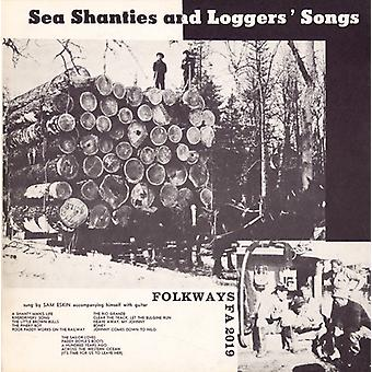 Sam Eskin - Sea Shanties & Loggers' Songs [CD] USA import