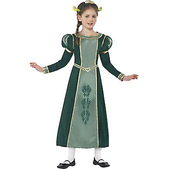 Fiona costume set dress kids Shrek original Fionakostüm