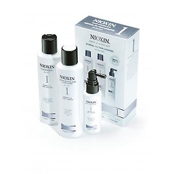 Nioxin Hair System Kit 1 For Fine, Normal To Thin Looking Hair