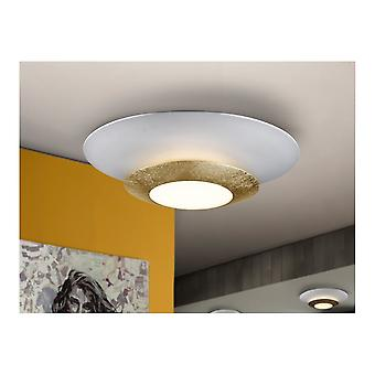 Schuller Hole LED Ceiling Lamp, Gold