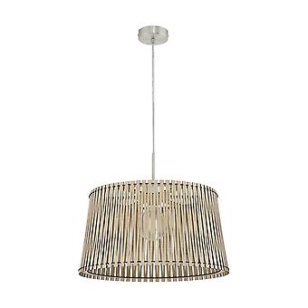 Eglo SENDERO Wooden Basket Ceiling Light