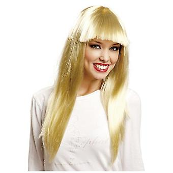 My Other Me Long Blonde Wig With Bangs (Costumes)