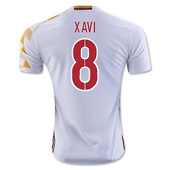 2016-2017 Spanje Adidas Away Shirt (Xavi 8) - Kids