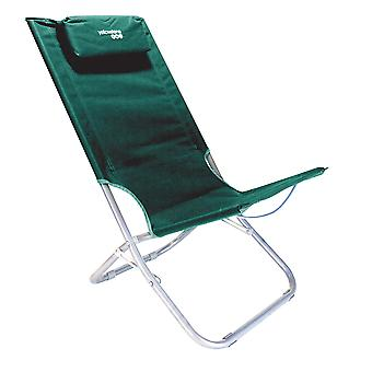 Yellowstone Folding Lounger Camping Chair