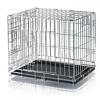 Trixie JAULA TRANSPORTE ZINCADA 64*54*48CM (Dogs , Transport & Travel , Cages)