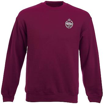The Royal Tank Regiment Embroidered Logo - Official British Army Heavyweight Sweatshirt