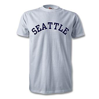 Seattle College stijl T-Shirt