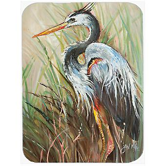 Blue Heron Gazing West Mouse Pad, Hot Pad or Trivet