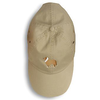 Carolines Treasures  BB3416BU-156 Collie Embroidered Baseball Cap