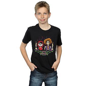 Disney Boys Coco Miguel And Hector T-Shirt