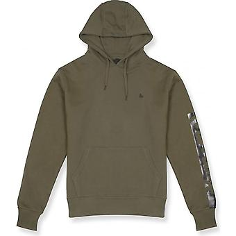Money Clothing J28003 Zamac Cotton Olive Green Hoodie