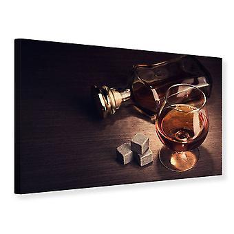 Canvas Print A Glass Of Cognac