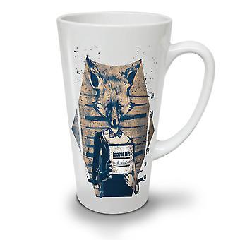 Fox Mug Shot Beast NEW White Tea Coffee Ceramic Latte Mug 17 oz | Wellcoda